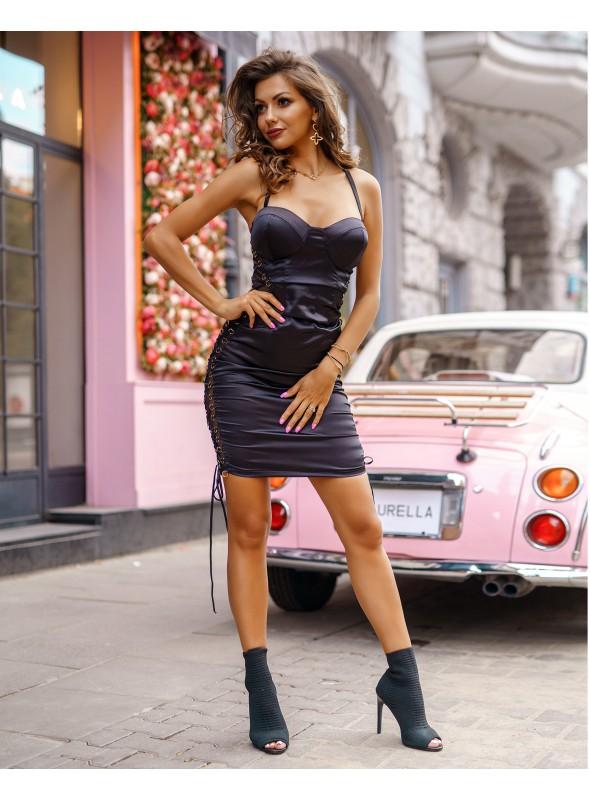 Sukienka Black Section Line by Provocativ
