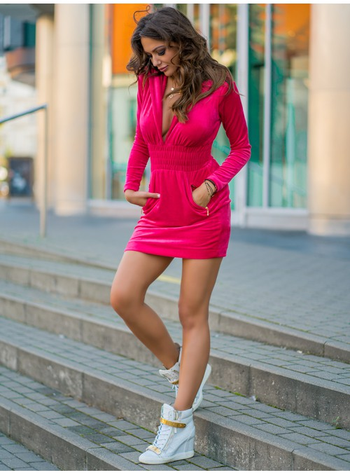 Sukienka Provocativ Sport fuchsia