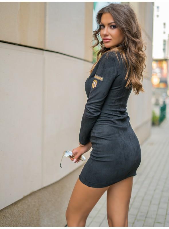Sukienka Military Black