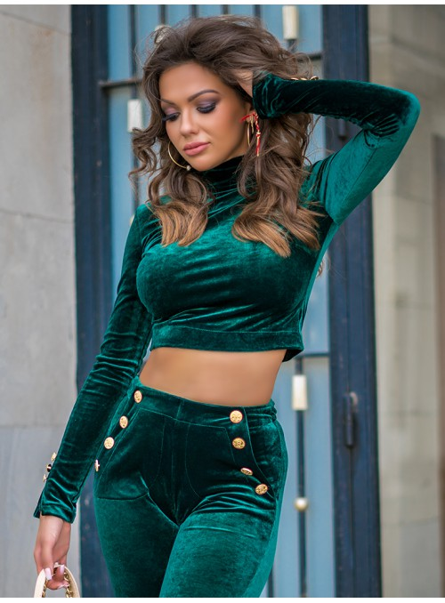 Komplet Rimini Long Emerald